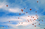 Werbung Hochzeitsballone
