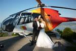Werbung Helikopter Flüge
