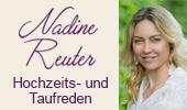 Hochzeitsreden Taufreden Nadine Reuter